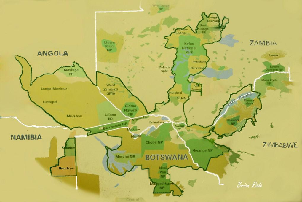 botswana-okavango-kaart