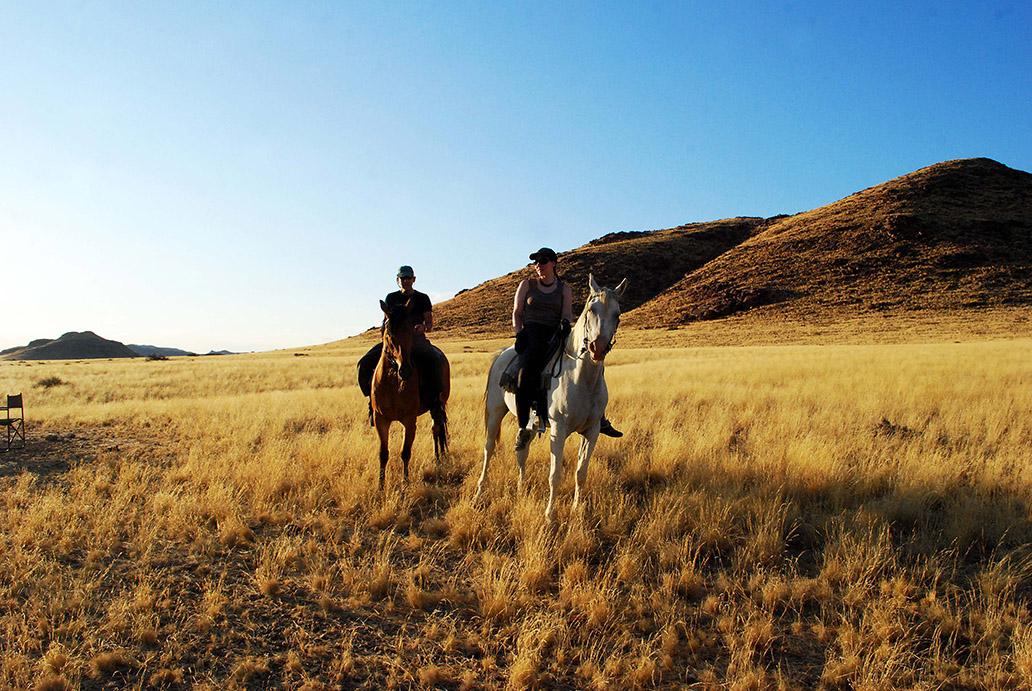 Horse-ridingnamibiëhenkangelique