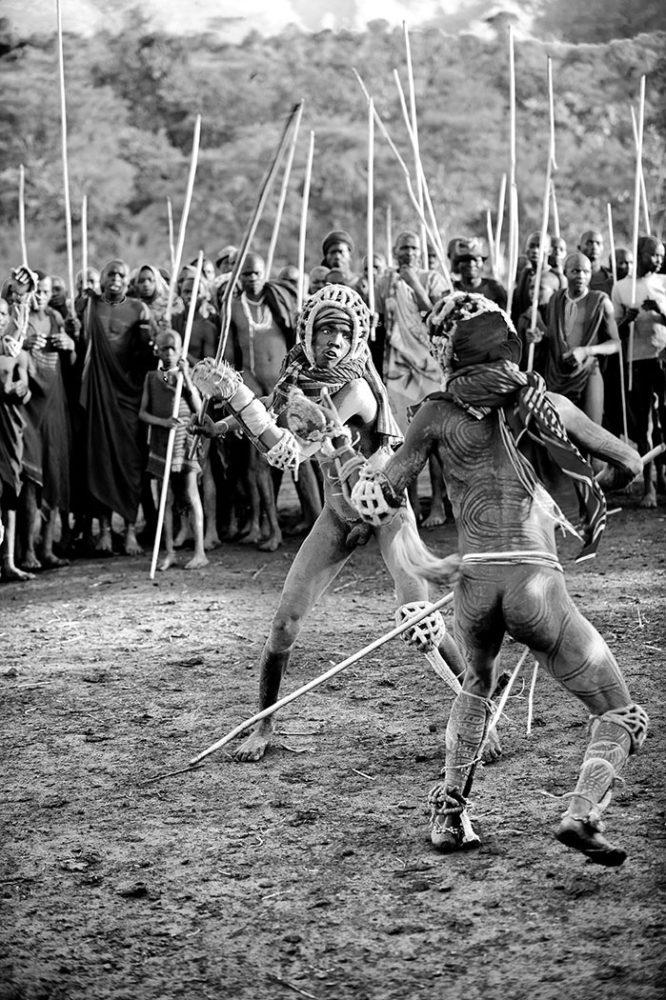 ethiopië-suri-donga-gevecht