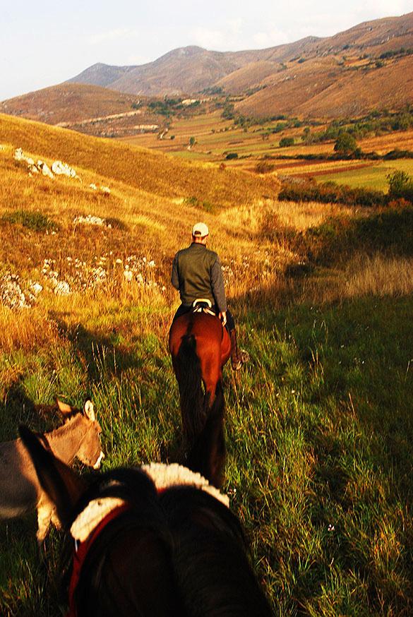 San stefano paardrijden ezeltjes