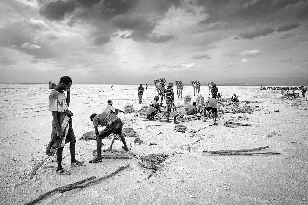 ethiopië-lake-asale-afar-zout-arbeid