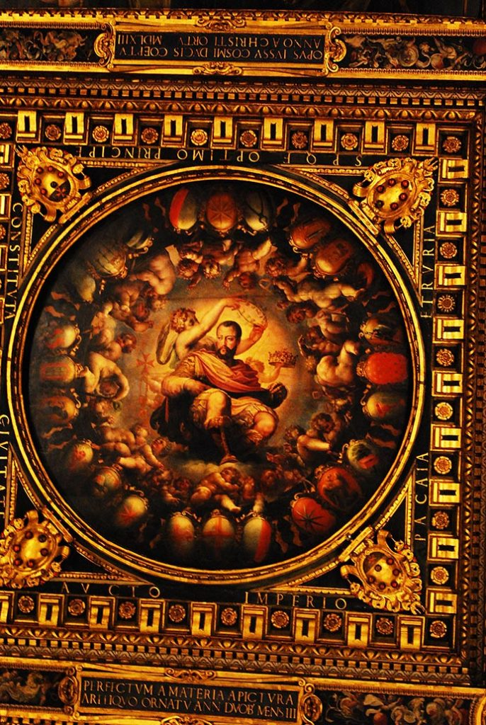 florence-plafond-palazzo-vecchio-kroning-cosimo