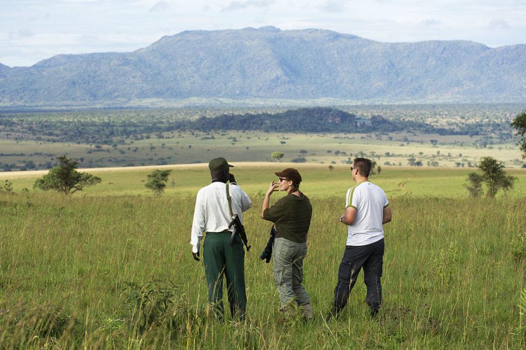 oeganda-kidepo-walking safarie