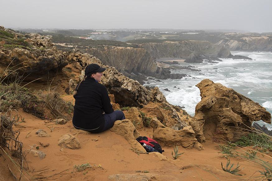 portugal-algarve-zambujeira-vissersroute-rust
