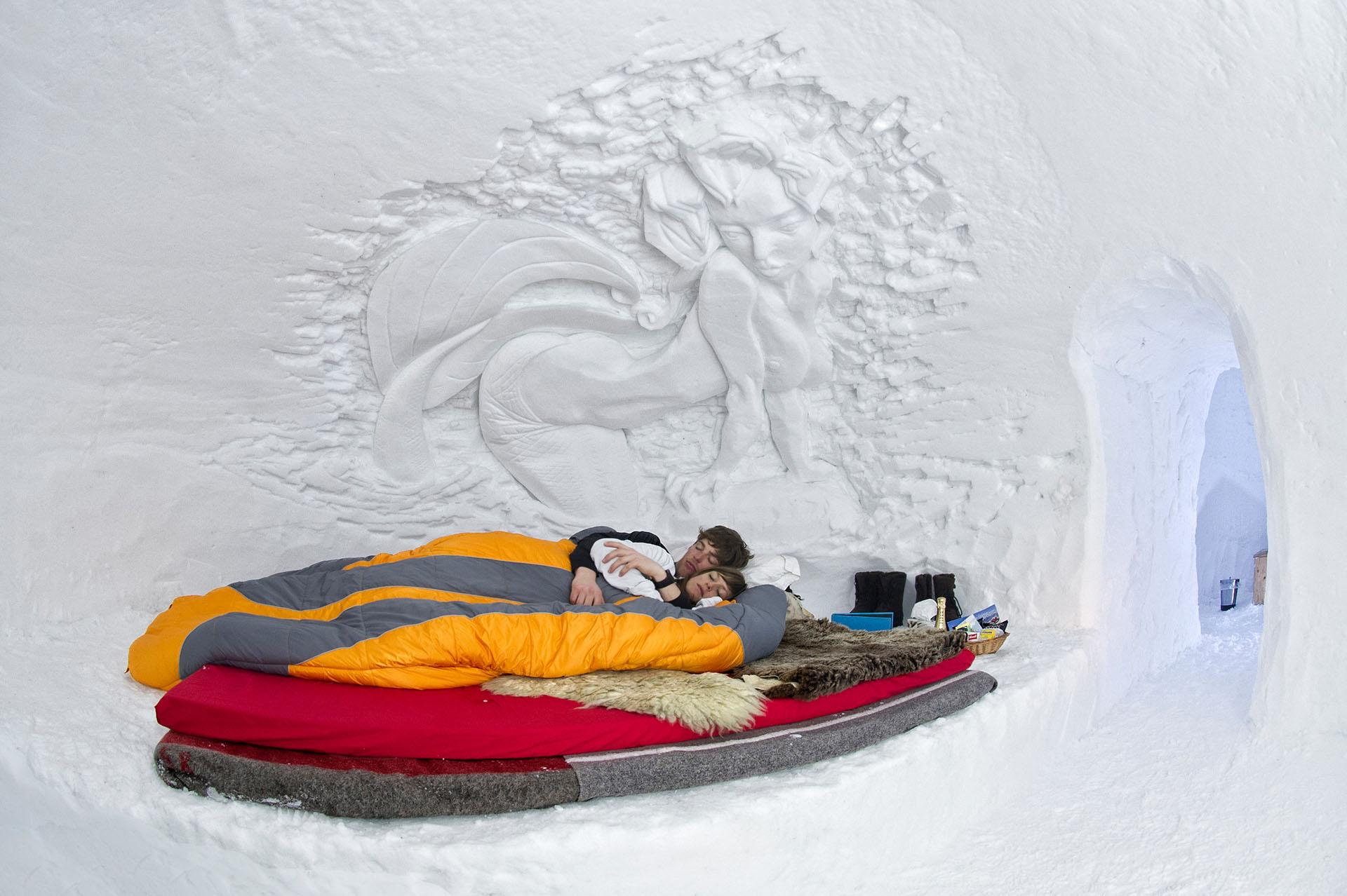 zwitserland-iglo-dorf-slaapkamer