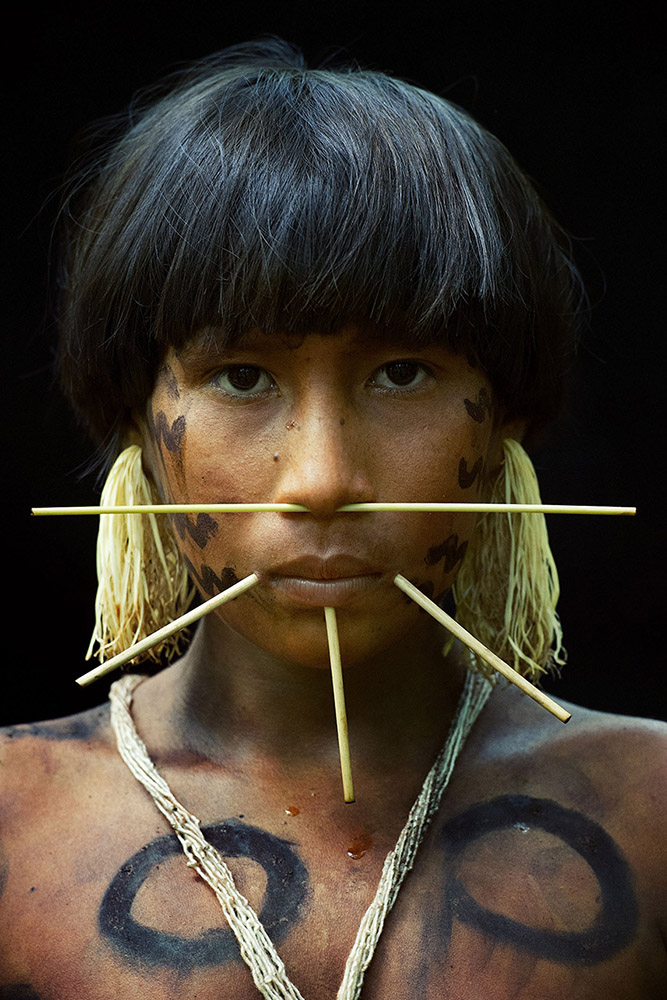 venezuela-yanomami-vrouw