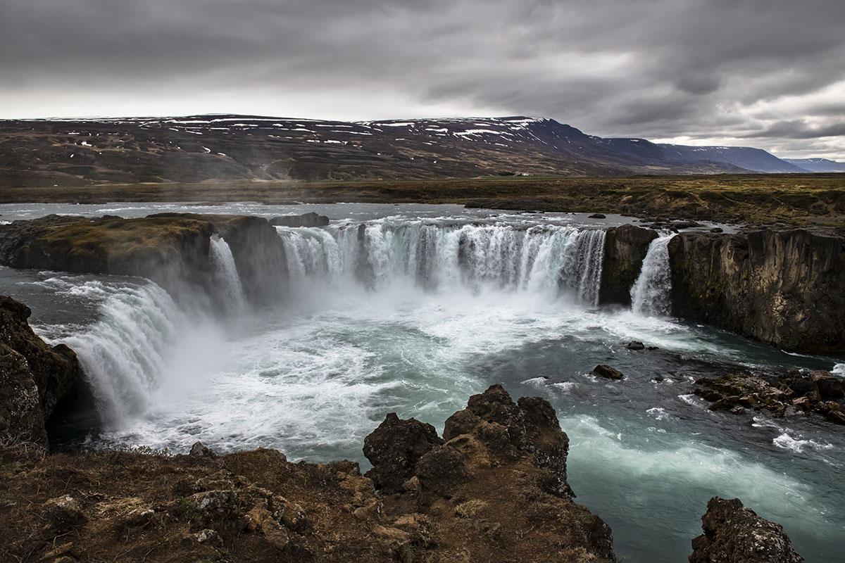 Goôafoss waterfall