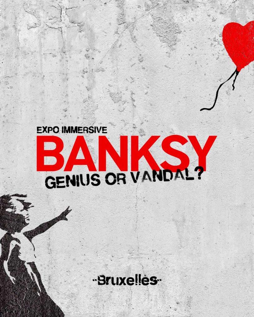 affiche-bansky-genius-or-vandal-expositie-brussel
