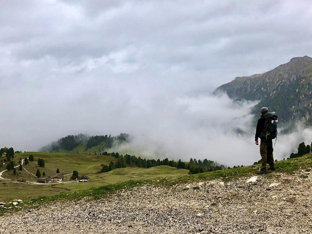 Doloroma-trail-dolomieten-etappe3-mist