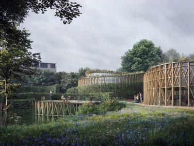 hans-christian-andersen-huis-denemarken-2-hedges-enveloppe-building-kengo-kuma-correlius-vöge